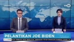 Laporan Langsung VOA untuk TVRI: Pelantikan Presiden ke-46 AS, Joe Biden