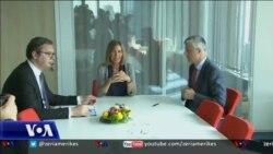 Mogherini: Bisedimet Kosovë-Serbi të vështira dhe inkurajuese