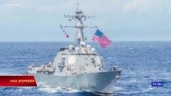 Tàu Mỹ đi vào Biển Đông trong lúc đàm phán thương mại với TQ