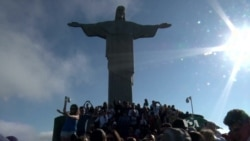 Christ the Redeemer Statue a Hit for Rio Visitors