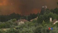 2017-06-18 美國之音視頻新聞: 葡萄牙森林火災至少57人喪生 (粵語)
