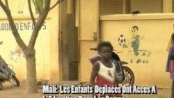 Les Enfants Déplacés Au Mali Ont Accès À L'éducation Dans Les Camps