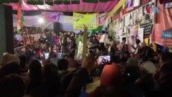 شاہین باغ میں شہریت قانون کے خلاف احتجاج جاری