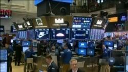 В понеділок ціни на акції продовжили падіння, попри низку заяв міністра фінансів США. Відео