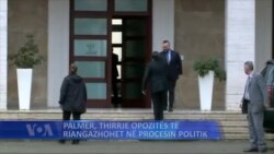 Matthew Palmer në Tiranë