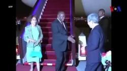 Les dirigeants africains arrivent à Beijing pour le sommet du FOCAC