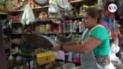 Crisis deja a nicaragüenses con menos alimentos y medicina