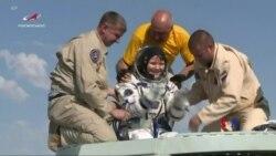 2019-06-25 美國之音視頻新聞: 美加俄三名國際太空站宇航員已安全返回地球