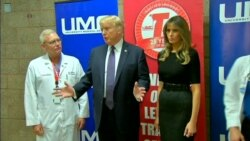 Trump Praises Las Vegas Medical Team, Shooting Victims
