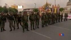 2014-05-27 美國之音視頻新聞: 泰國抗議者無視軍方警告繼續示威