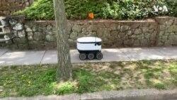 'หุ่นยนต์เดลิเวอรี่' แจ้งเกิด พลิกวิกฤติ โควิด-19 เป็นโอกาส