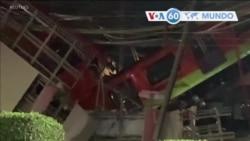 Manchetes mundo 4 Maio: México - 23 pessoas morreram e 70 ficaram feridas quando viaduto do metro desabou