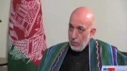 آقای کرزی می گوید که تفاهمنامۀ استخباراتی با پاکستان سند اختناق در افغانستان است