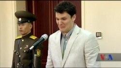 Судилище влаштували у КНДР над американським юнаком. Відео