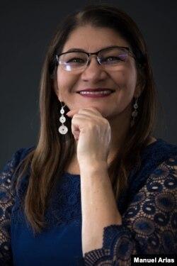 Senadora Griselda Lobo. segunda vicepresidente del Senado en Colombia. [Fuente @SandraFarc]