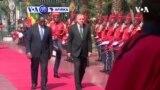 VOA60 AFIRKA: Shugaban Turkiyya, Recep Tayyip Erdogan, ya hadu da takwaran aikinsa na Senegal, Macky Sall a Dakar