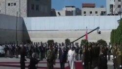 ديدار پاپ با محمود عباس