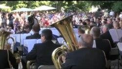 У Києві змагалися оркестри США та України. Відео