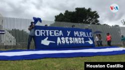 Las protestas contra el presidente Daniel Ortega se han multiplicado desde 2018. [Foto: VOA/Houston Castillo]