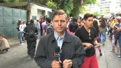 Venezolanos celebran medida otorgada a Leopoldo López