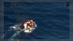 Des migrants échappent à la mort après un incendie sur leur bateau entre le Maroc et l'Espagne (vidéo)