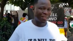 Zimbabweans In The Diaspora Express Displeasure With Human Rights Violations In Zimbabwe