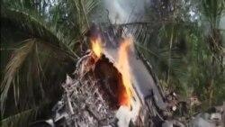 斯里蘭卡一架軍機墜毀 4人罹難