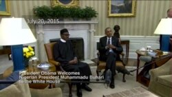 President Obama Welcomes Nigerian President Buhari to the White House