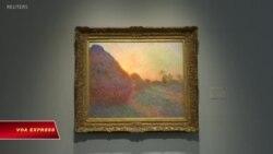 Tranh của danh họa Monet bán hơn 110 triệu đô