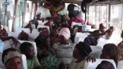 Les déplacés du volcan Nyiragongo de retour à Goma