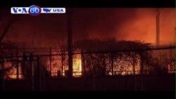 Cháy toà nhà chung cư ở Dallas