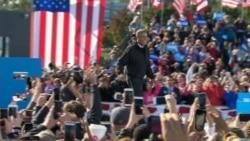 Obama visita Ohio, mientras Trump se defiende