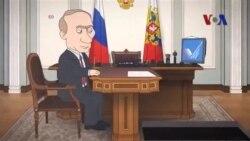 Phim hoạt hình Tổng thống Putin chống tham nhũng