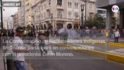 VIDEO: Continúan los disturbios en Ecuador
