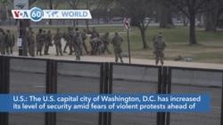 VOA60 Addunyaa - Washington Beefs Up Security Ahead of Presidential Inauguration