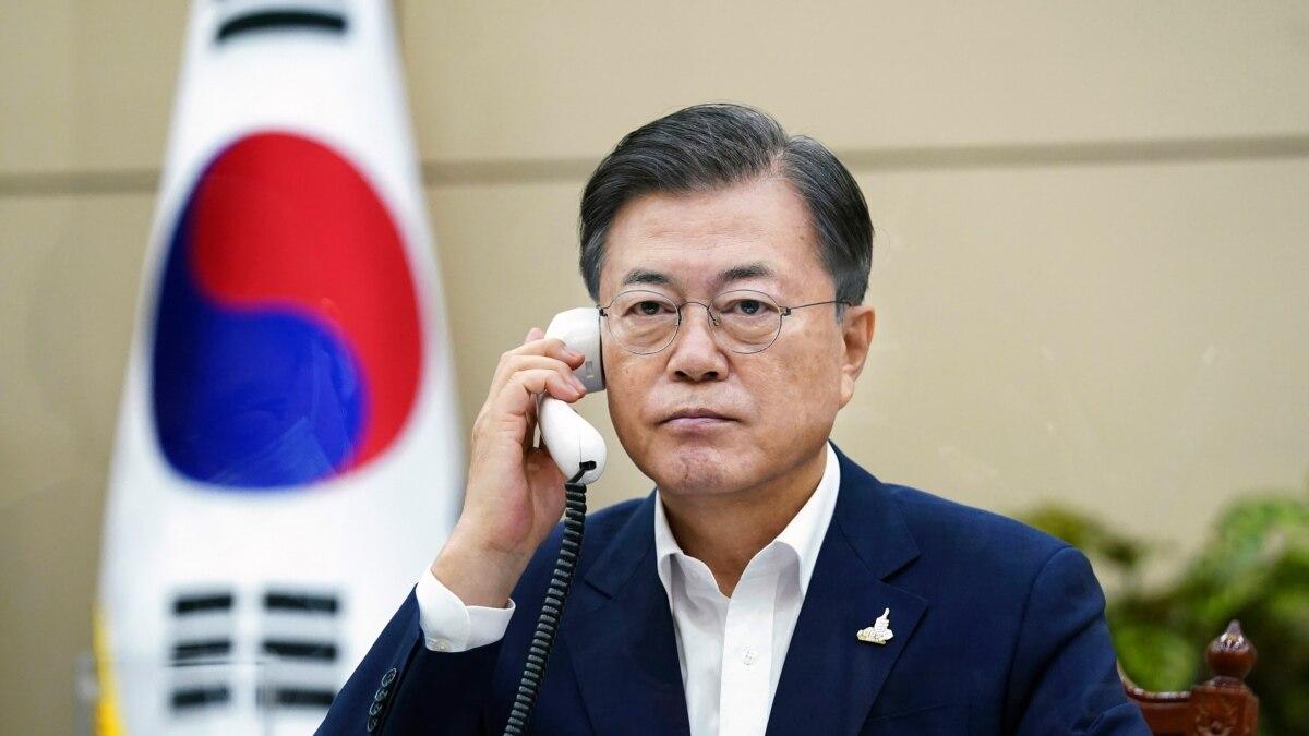 Presiden Moon Sesalkan Pembunuhan Pejabat Korsel oleh Tentara Korut