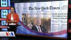16 Ağustos Amerikan Basınından Özetler