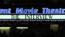اکران فیلم مصاحبه روز کریسمس، در آمریکا