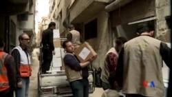2016-01-13 美國之音視頻新聞: 救援人員:敘利亞被困地區狀況令人吃驚