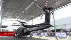 Các máy bay 'khủng' tại triển lãm hàng không Paris
