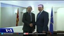 Komisioneri Hahn viziton Shkupin