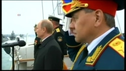 Putin in Crimea in First Visit Since Annexation