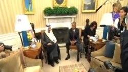 奧巴馬會見沙特國王 重申合作反恐