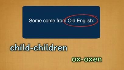 Everyday Grammar: Unusual Plurals