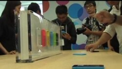 2013-09-11 美國之音視頻新聞: 蘋果推出新款手取悅中國用戶