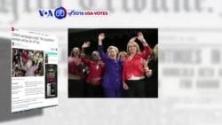 Manchetes Americanas 21 Abril 2016: Trump e Hillary correndo com garra