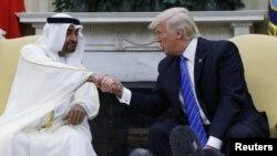 پرزیدنت ترامپ و ولیعهد ابوظبی - آرشیو