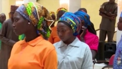Nigerian President Meets Freed Chibok Girls