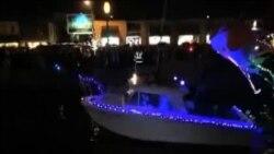 Božićna parada brodova u Annapolisu