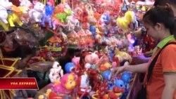 Phố lồng đèn ở Chợ Lớn